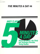 Five Minutes A Day #4 cover.