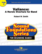 Valiance: A Heroic Overture for Band cover.