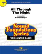 All Through The Night cover.