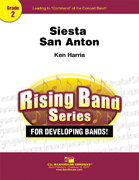 Siesta San Anton (Concert Band - Score and Parts)