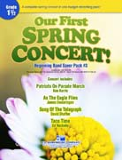 Our First Spring Concert! cover.