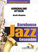 Adrenaline Attack (Jazz Ensemble - Score and Parts)