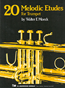 20 Melodic Etudes for Trumpet