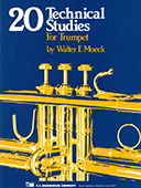 20 Technical Studies for Trumpet