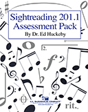 Sightreading 201.1 Assessment Pack