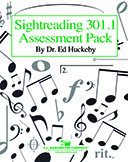 Sightreading 301.1 Assessment Pack