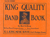 King Quality Band Book