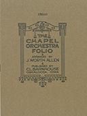 Chapel Orchestra Folio