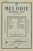 Melodie Orchestra Folio