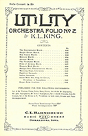 Utility Orchestra Folio No. 2