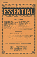 Essential Orchestra Folio