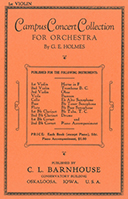 Campus Concert Collection for Orchestra
