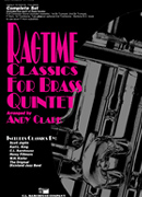 Ragtime Classics for Brass Quintet cover.