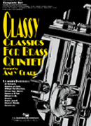 Classy Classics for Brass Quintet cover.