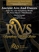 Ancient Airs And Dances cover.