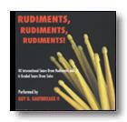 Rudiments, Rudiments
